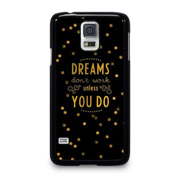 KATE SPADE QUOTE Samsung Galaxy S5 Case Cover