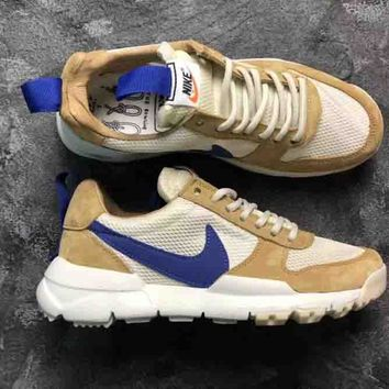 Nike AIR Brown Blue BIG SWOOSH Astronaut G-Dragon Retro Sports Shoes