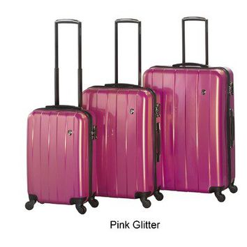 Heys USA Prisma 3 Piece Spinner Luggage Set