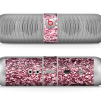 The Subtle Pink Glimmer Skin for the Beats by Dre Pill Bluetooth Speaker