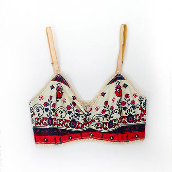 Desert Wanderer Floral Bralette - Sunset | Spell & the Gypsy Collective