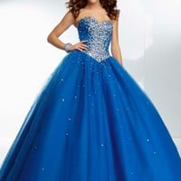 Mori Lee 95038 Prom Dress - PromDressShop.com