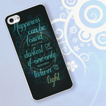 Harry Potter Symbol Quotes for iPhone 4/4S, iPhone 5/5S, iPhone 5C, iPhone 6 Case - Samsung S3, Samsung S4, Samsung S5 Case