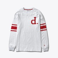 Un-Polo Football Top in White