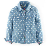 Spotty Denim Shirt