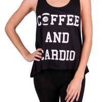 Coffee & Cardio Gym Shirt