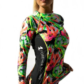 Rash Guard w/ Forever Young Logo