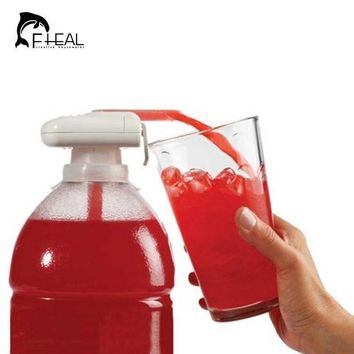 ICIK272 Creative Electric Automatic Juice Cocktail Water Dispenser with Drinking Straw Fruit Vegetable Kitchen Accessories for Party