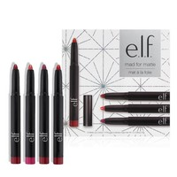 e.l.f Mad For Matte (4 Matte Lip Colors) - Walmart.com