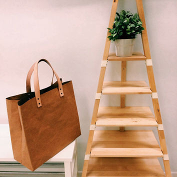 Shopping Kraft paper bag big size market