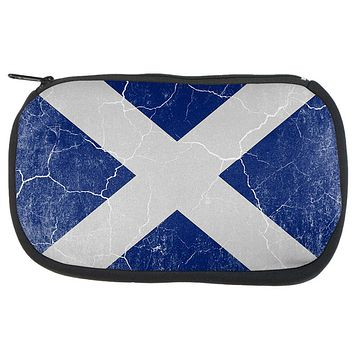 Scottish Flag Distressed Grunge Scotland Travel Bag
