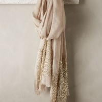 Glimmered Wool-Silk Scarf by Anthropologie