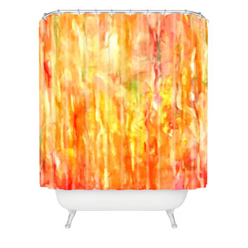 Rosie Brown Shower of Color Shower Curtain