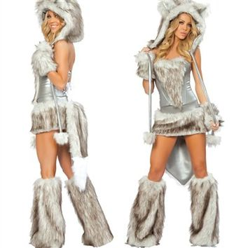 J. Valentine Wolf Outfit : Cute Sexy Costumes Made in the USA!