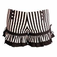 Wild Card Striped Bloomer Shorts