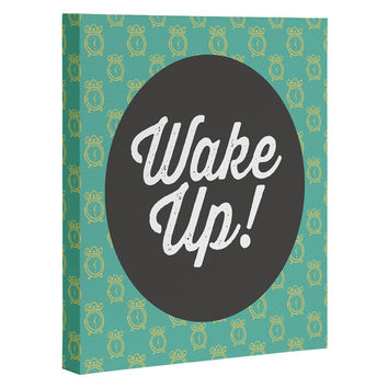 Allyson Johnson Wakey Wakey Art Canvas