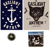 The Gaslight Anthem - Big Bomb Sticker/Pin Pack
