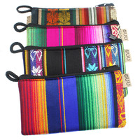 Colorful Fabric Pouch - Ecuador