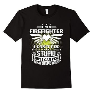 I'm Firefighter T-Shirts - Men's Crew Neck Novelty Tee