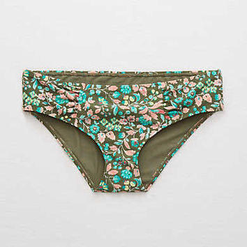 Aerie Hipster Bikini Bottom , Rugged Green