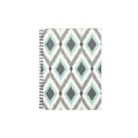 Tribal Ikat Chevron Spiral Note Books from Zazzle.com