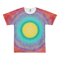 For The Love Bubble of 24 [Eye of Fire God] || Short sleeve men's t-shirt (unisex) — Future Life Fashion