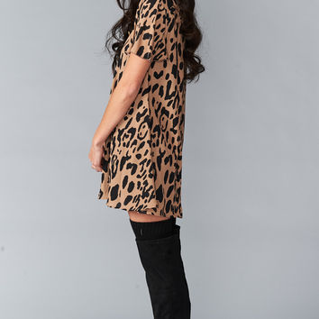 Show Me Your mumu Kylie Mini Dress ~ Cool Cat