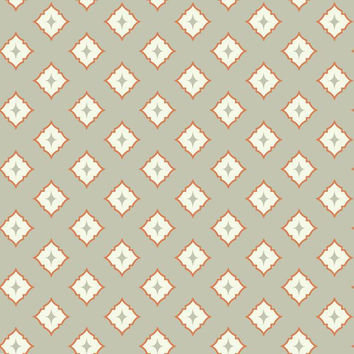 Moroccan Spot Wallpaper in Grey design by York Wallcoverings
