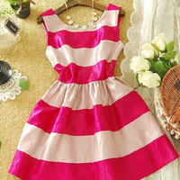 Sexy sweet striped dress JBAC