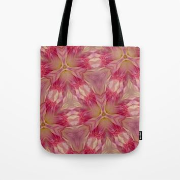 Flower Power  Tote Bag by Rebecca's Fabric Designs