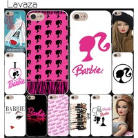 Lavaza for barbie Bitch doll face 1959 cute Hard Coque Shell Phone Case for Apple iPhone 8 7 6 6S Plus 5 5S SE 5C 4S X 10 Cove