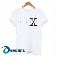 the x files logo T-shirt men, women adult unisex size S to 3XL