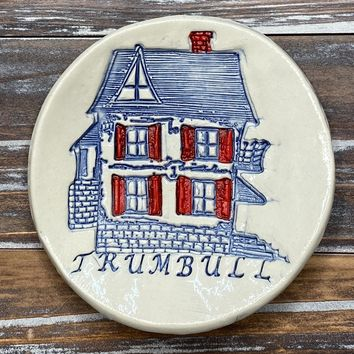 Trumbull Home Ceramic Trinket Dish