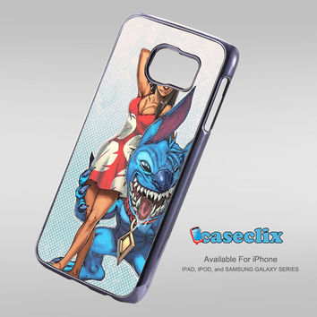 unique design stitch lilo For Smartphone Case