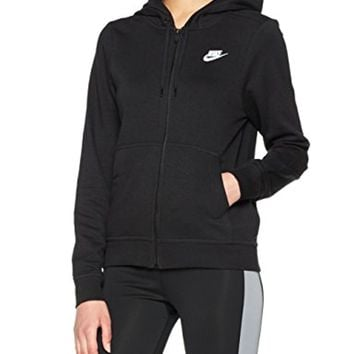 NIKE Womens Club Full Zip Hoodie