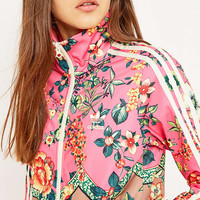 adidas Originals x Farm Jardineto Pink Track Jacket Top - Urban Outfitters