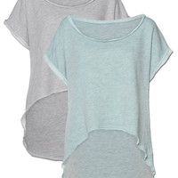 SALE! Calm Organic Cotton Cutoff Top