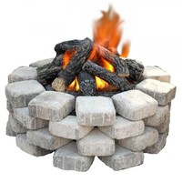Reflection Outdoor Gas Fire Pit Kit