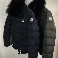 cc hcxx Moncler Womens Side Fur