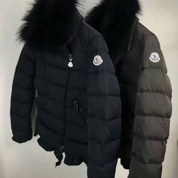 cc spbest Moncler Womens Side Fur