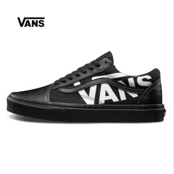 Best Deal Online Vans Old Skool Black White Low Top Men Flats Sh f5c34e162
