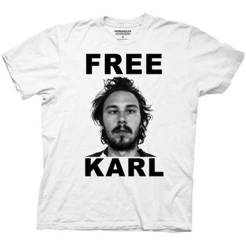 Workaholics Karl TV Funny Adult T Shirt