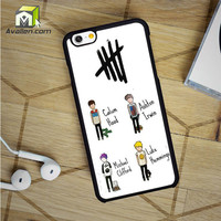 5Sos 5 Seconds Of Summer Band iPhone 6 Case by Avallen