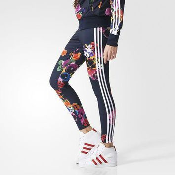 adidas Originals X Farm Jardim 3 Stripe Leggings