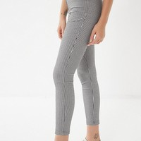 UO Susie High-Rise Gingham Pant   Urban Outfitters