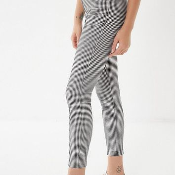 UO Susie High-Rise Gingham Pant | Urban Outfitters