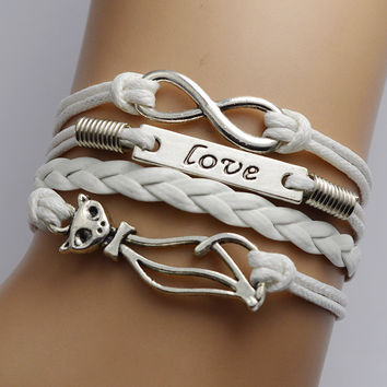 Cute Kitty Multielement Fashion Bracelet