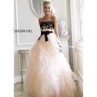Sherri Hill 4318 Strapless Ball Gown