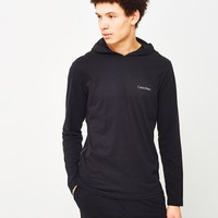Calvin Klein Underwear Comfort Cotton Movement Hoodie Black