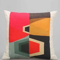 Inaluxe Atlas Pillow- Multi 18 Inch Square